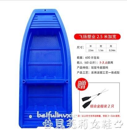 熱銷橡皮艇牛筋塑膠船漁船捕魚小船加厚pe釣魚船沖鋒舟橡皮艇可配電動船外機LX