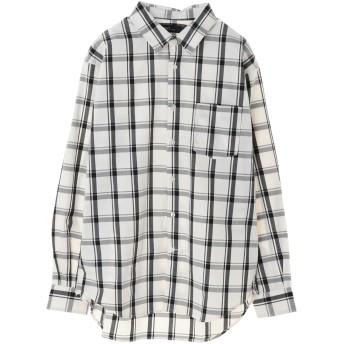 【6,000円(税込)以上のお買物で全国送料無料。】綿ブロードベーシックシャツ