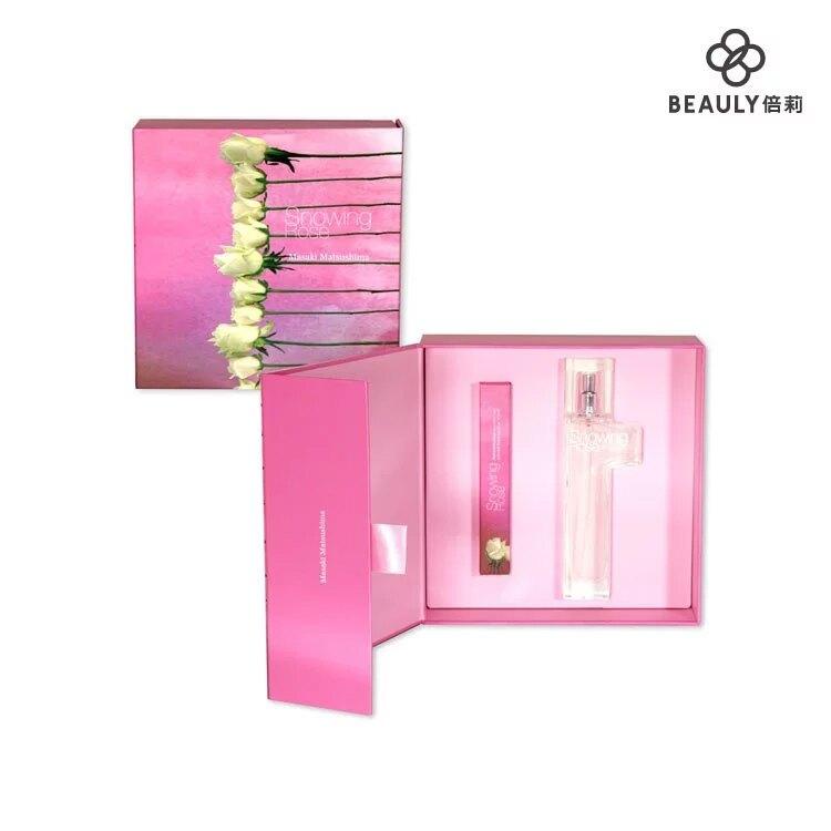 Masaki 松島正樹 冰晶薔薇女性淡香精禮盒 (淡香精 40ml+滾珠筆 10ml)《BEAULY倍莉》