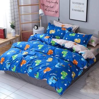 寝具セット 掛け布団カバー 枕カバー 快適 布団カバー 柔らかい 洗い替え ベッド用 通気性 抗菌 寝具カバーセット LULIJP
