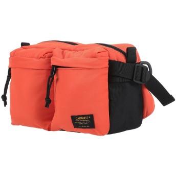 《セール開催中》CARHARTT メンズ バックパック&ヒップバッグ オレンジ ポリエステル 100%