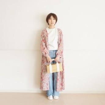 ★SALE★リバティガウンワンピース(ピンク)