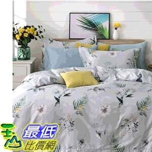 [COSCO代購] W126828 Don Home 單人300TC純棉被套床包四件組 - 鳶尾