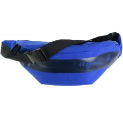 agnes b. CORDURA橫紋帆布腰包-藍