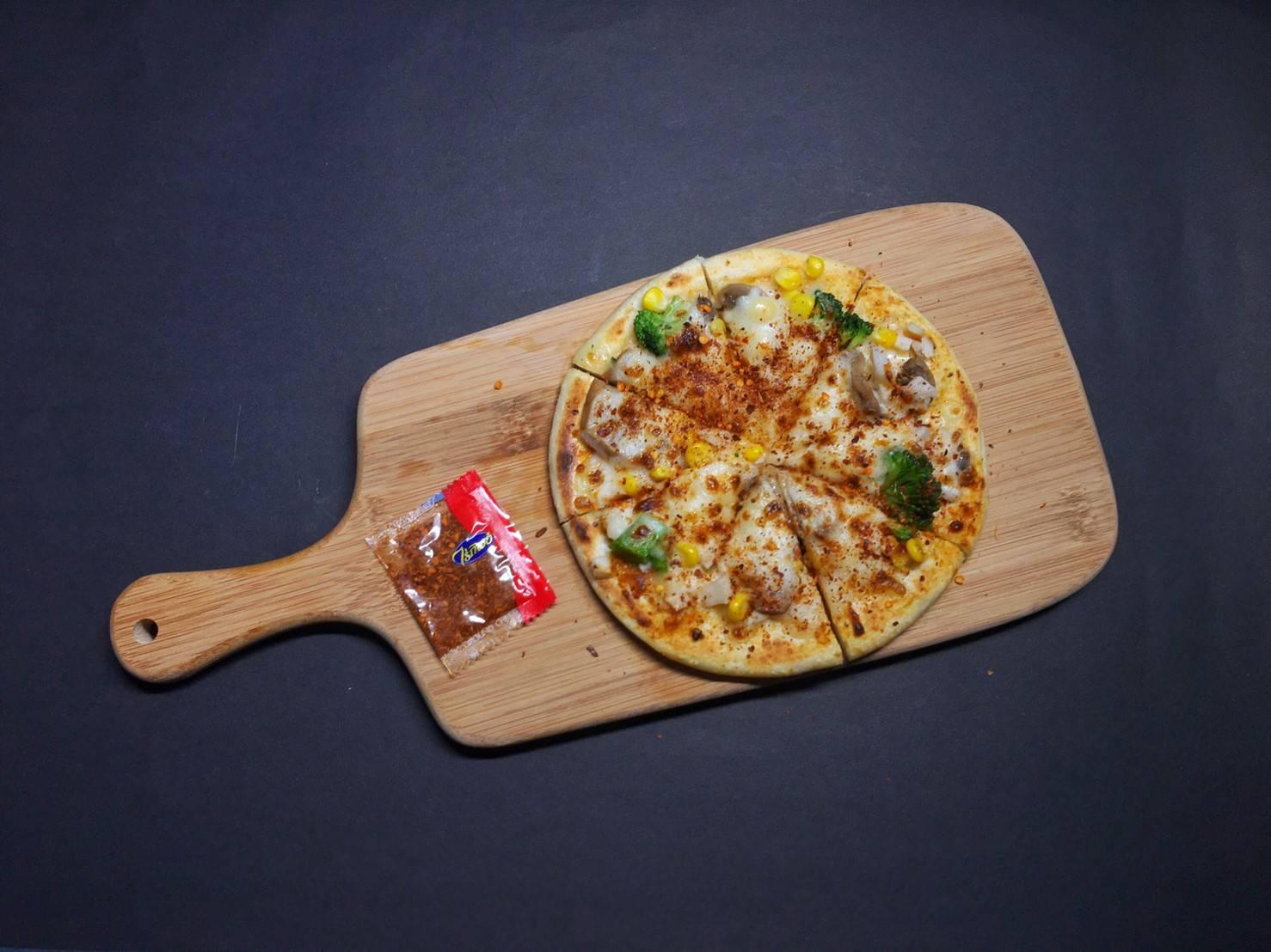 手作蔬菜野菇披薩(素食) 6.5吋