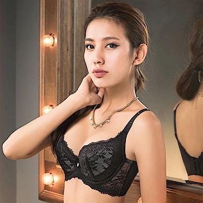 摩奇X 大V美背系列 B-E罩杯內衣(墨黑色)