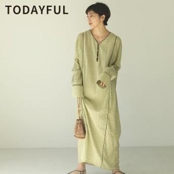 TODAYFUL トゥデイフル LIFEs ライフズ Embroidery Voile Dress エンブロイダリーボイルドレス 12010302【2020】【SS】【2020春夏】【入