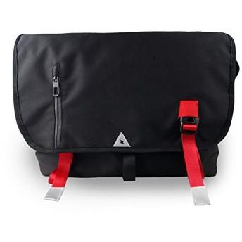 ショルダーバッグ 斜めがけバッグ ワンショルダーバッグ レフレクターマーク 郵便バッグ 軽量 防水 大容量