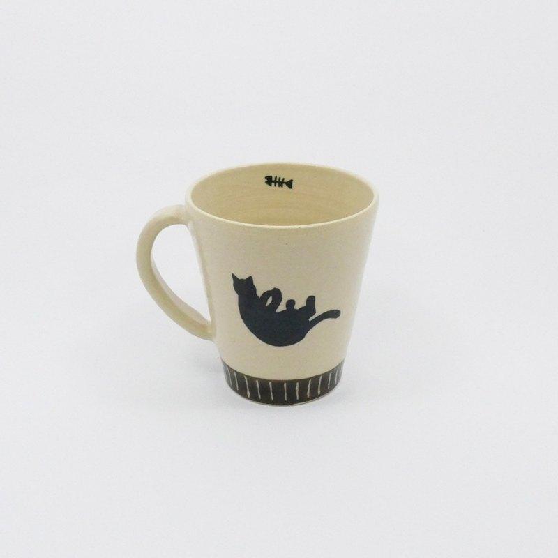 有種創意 - 漂浮貓馬克杯