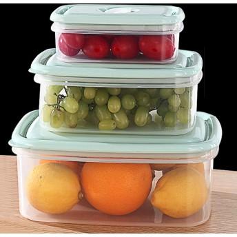 冷蔵庫の食品保存容器、スタッカブル冷蔵庫キッチンオーガナイザーキーパー、食品保存容器ビン、トレーは新鮮を保つために,B