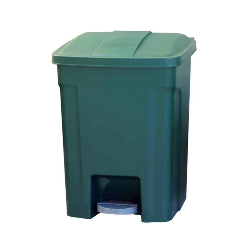 《真心良品》巴布超大容量腳踏式垃圾桶80L -1入組