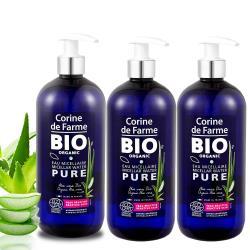 法國黎之芙 BIO認證有機蘆薈卸妝水500mlx3入