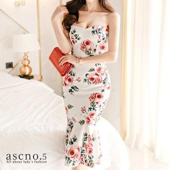 【送料無料】バラが際立つドレス ドレス ラグジュアリー 韓国スタイル 韓国ファッション 韓国 レディース ファッション ワンピース ワンピ セクシー タイトワンピ キャバ お呼ばれ ラウンジ ナイト