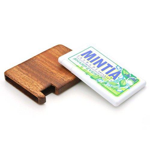 MINTIA 獨家木箱由木頭製成