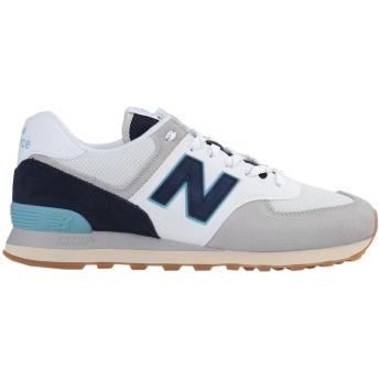 《セール開催中》NEW BALANCE メンズ スニーカー&テニスシューズ(ローカット) グレー 7 紡績繊維 / 革 574