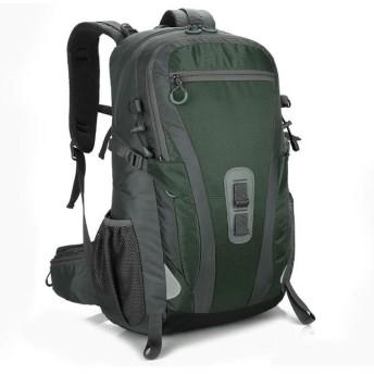 ZJH 登山バッグアウトドア耐摩耗キャンプハイキング防水プロ40L旅行スポーツバックパック ZJH (色 : Green)