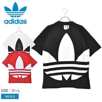 アディダス オリジナルス 半袖Tシャツ ビッグ トレフォイル Tシャツ FM9903 FM9904 FM9906 メンズ