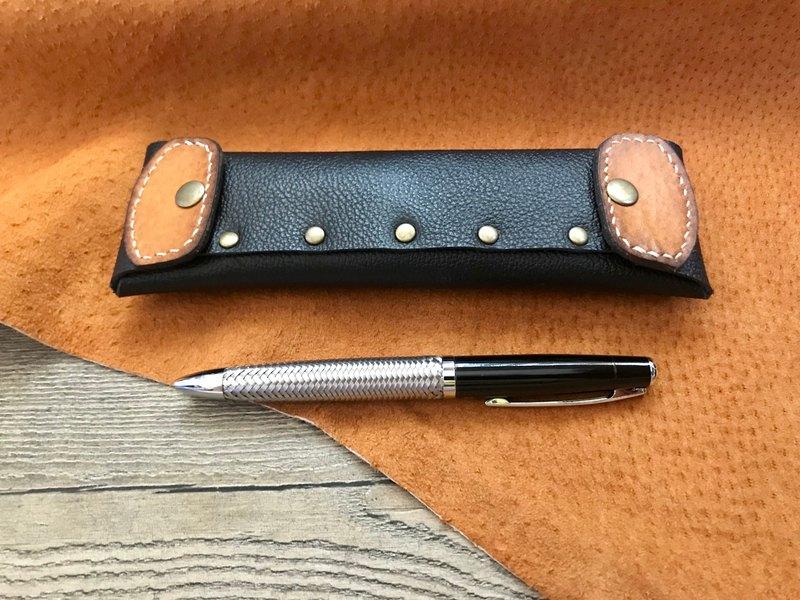 POPO- 暗黑/ 皮革筆袋
