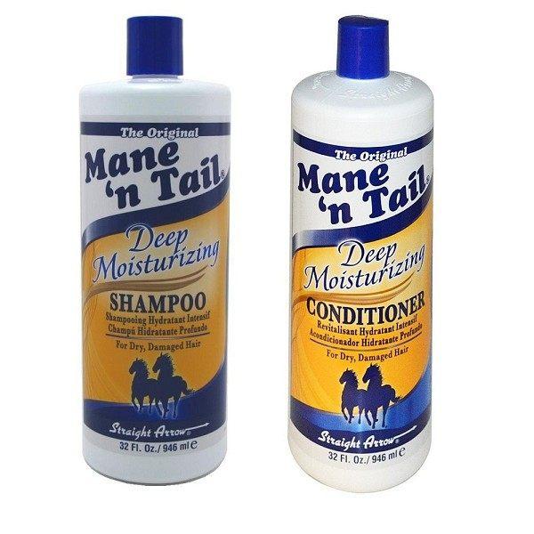 Mane'n tail 箭牌馬用經典洗髮精 潤絲精 946ml