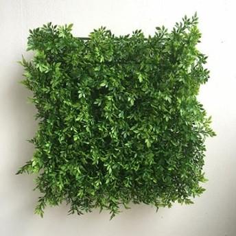 ティーリーフマット グリーンウォール 造花 フェイクグリーン 壁掛け 壁 装飾 インテリア ナチュラル シンプル 5339