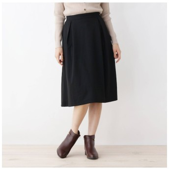 【グローブ/grove】 【LLあり】ポンチ裏起毛スカート