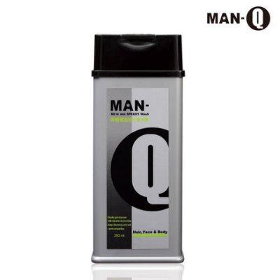 MAN-Q S1茶樹精油全效潔淨露350ml