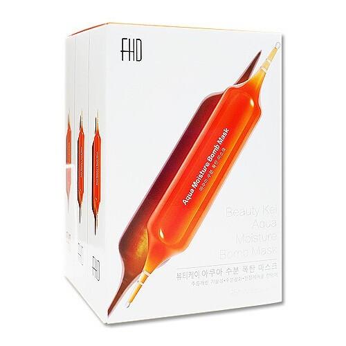 韓國 fhd 血橙補水面膜(28mlx30片)盒裝面膜/補水面膜/面霜