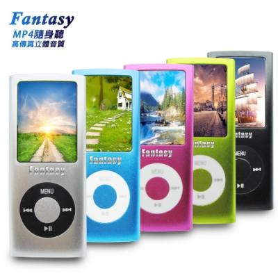 【DW-B1840A】Fantasy四代彩色 MP4隨身聽(內建16G)(送6好禮)