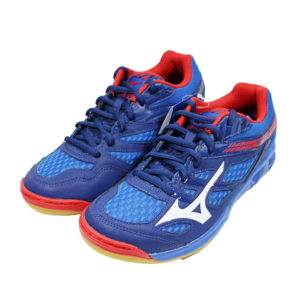 mizuno 美津濃 男 排球鞋 thunder blade v1ga177027 藍紅