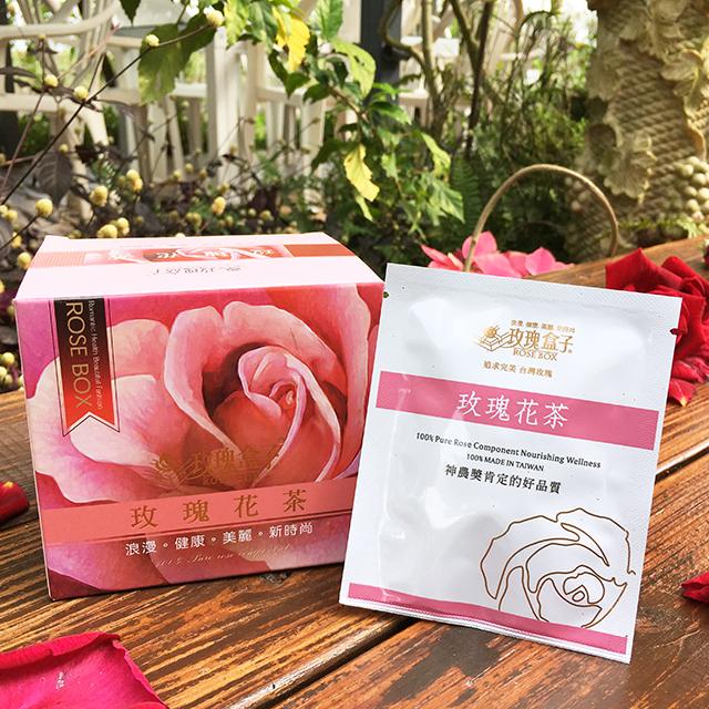 【大花農場】玫瑰花茶5盒組