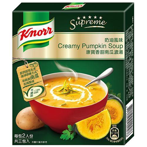 康寶奶油風味香甜南瓜濃湯二人份【愛買】