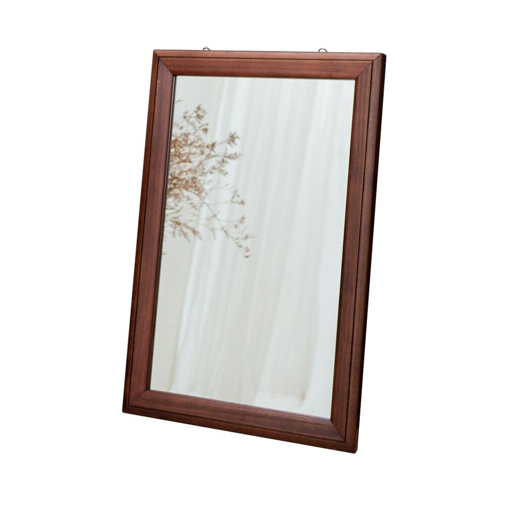 實木相框掛鏡40x60/掛鏡/立鏡/自拍鏡/桌鏡/壁鏡【JL精品工坊】