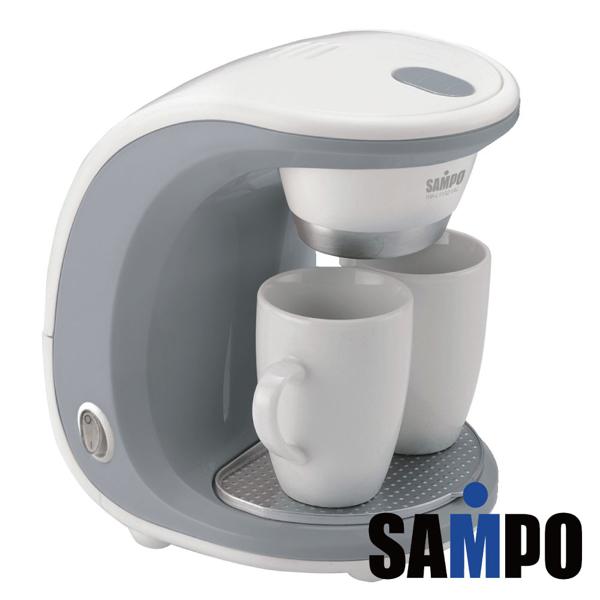 福利品 SAMPO聲寶 雙杯份咖啡機 HM-L11021AL 免運