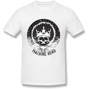 Tシャツ メンズ マシーンヘッド Machine Head 半袖tシャツ おおきいサイズ 2020新型 夏服 インナーシャツ カジュアル スポーツ カップル 吸汗速乾 薄手 Tシャツ 綿100% 綿 男女兼用