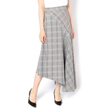 Loungedress(ラウンジドレス) レディース 【Mykke Hofmann】チェックラインスカート カラーなし