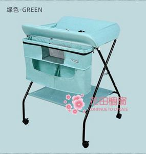 尿布台 兒童尿布台護理台洗澡台寶寶換尿布多功能台撫觸台收納折疊T 2色