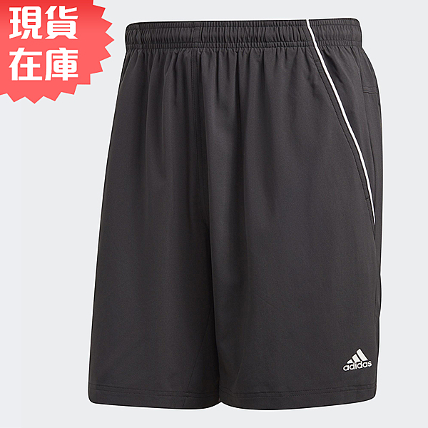 【現貨】ADIDAS TS SHORT 男裝 短褲 慢跑 訓練 吸濕 排汗 透氣 黑【運動世界】O04785