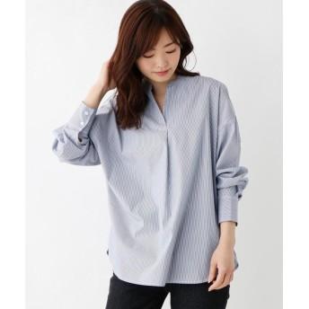 BLESSE BLIGE(ブレスブリージュ) ストライプスキッパーシャツ