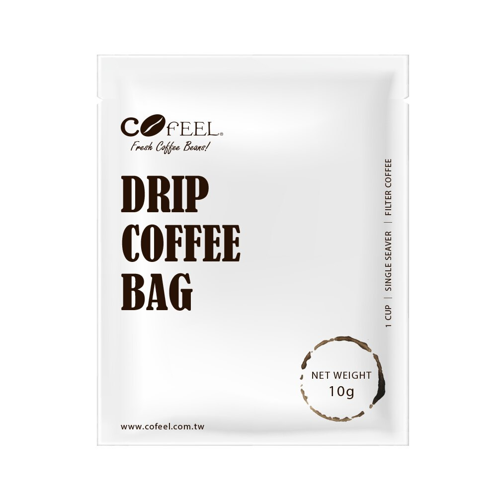 CoFeel 凱飛鮮烘豆黃金曼特寧單品濾掛咖啡/耳掛咖啡包10g x 10包【MO0062】(SO0072)