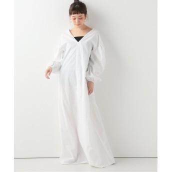 Spick and Span 【Uhr】 Gathering Dress ホワイト 36