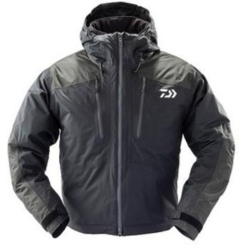 ダイワ 釣り用防寒レインウェア DW-37009J レインマックス ショート ウィンター ジャケット  L  ブラック