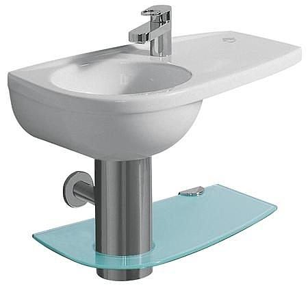 【麗室衛浴】德國 KERAMAG Joly系列 面盆 右平檯 60*34CM 123160
