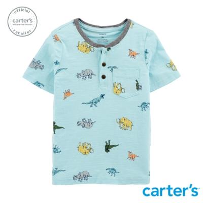 【Carter s】 恐龍印花圓領上衣 (台灣總代理)