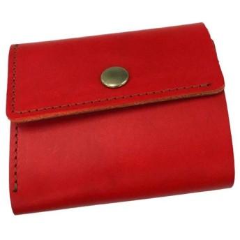 イタリアンレザー BUTTERO コインケース RED(07) T1100W