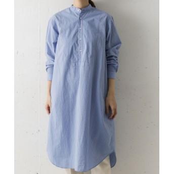 DOORS(ドアーズ) ワンピース ワンピース ORCIVAL コットンボイルシャツドレス【送料無料】