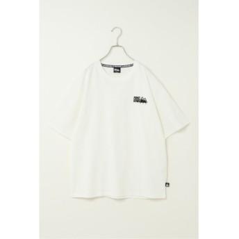 イッカ FIRST DOWN ワンポイント刺繍Tシャツ メンズ オフホワイト XL 【ikka】