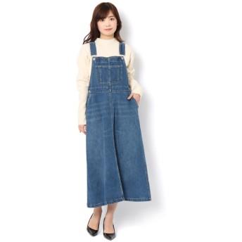 【テチチ/Te chichi】 デニムサロペットスカート NS