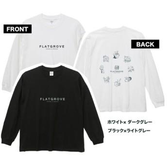 【新作】ロゴ&オードブル・ロングスリーブTシャツ