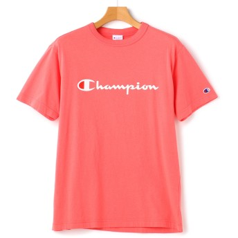 SizeMax Champion 半袖 胸ロゴプリントTシャツ