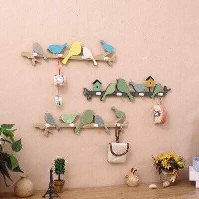 美式創意門口玄關房試衣間掛鉤牆上壁掛裝飾衣帽鉤門後鑰匙架   HM 居家物語